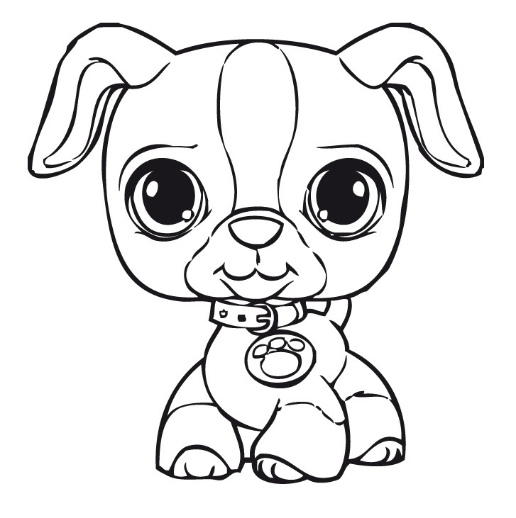 Desenhos de cachorros para colorir melhoramigo dog for Black and white coloring pages of dogs